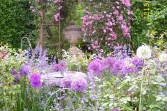 Clematis und Allium-min