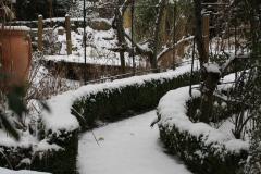 verschneiter-Weg-am-Teich-entlang-min