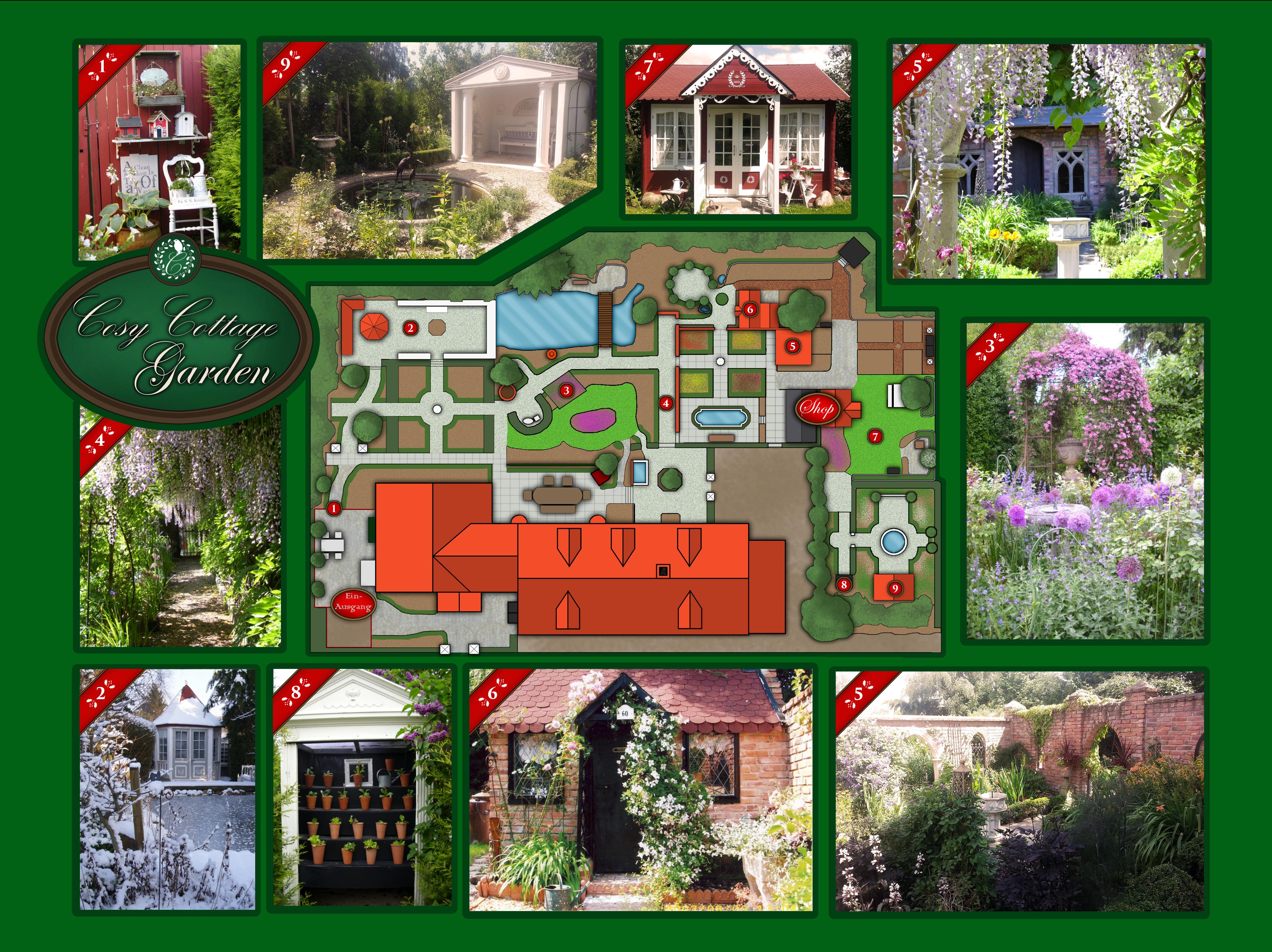 ... Meinen Gartengast Willkommen Heißen Und Sie Auf Einem Rundgang, Den Ich  In Dieser Form Auch Besuchern Anbiete, Durch Unseren Cosy Cottage Garden  Führen: